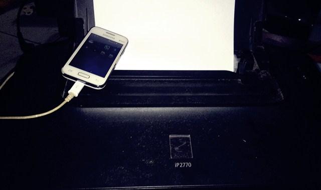 Cara Print Dari Hp Android Menggunakan Printer Canon iP2770