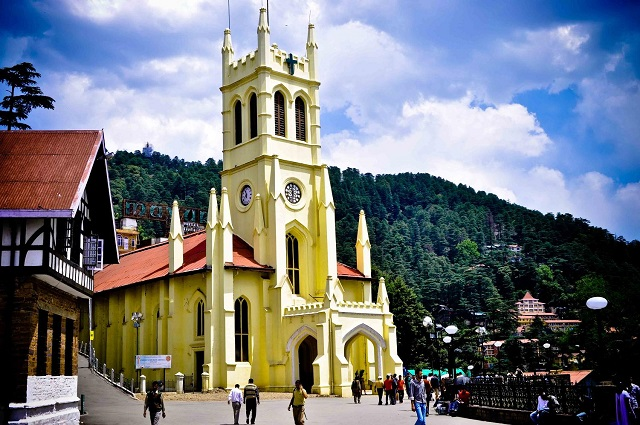 Shimla a perfect honeymoon getaway