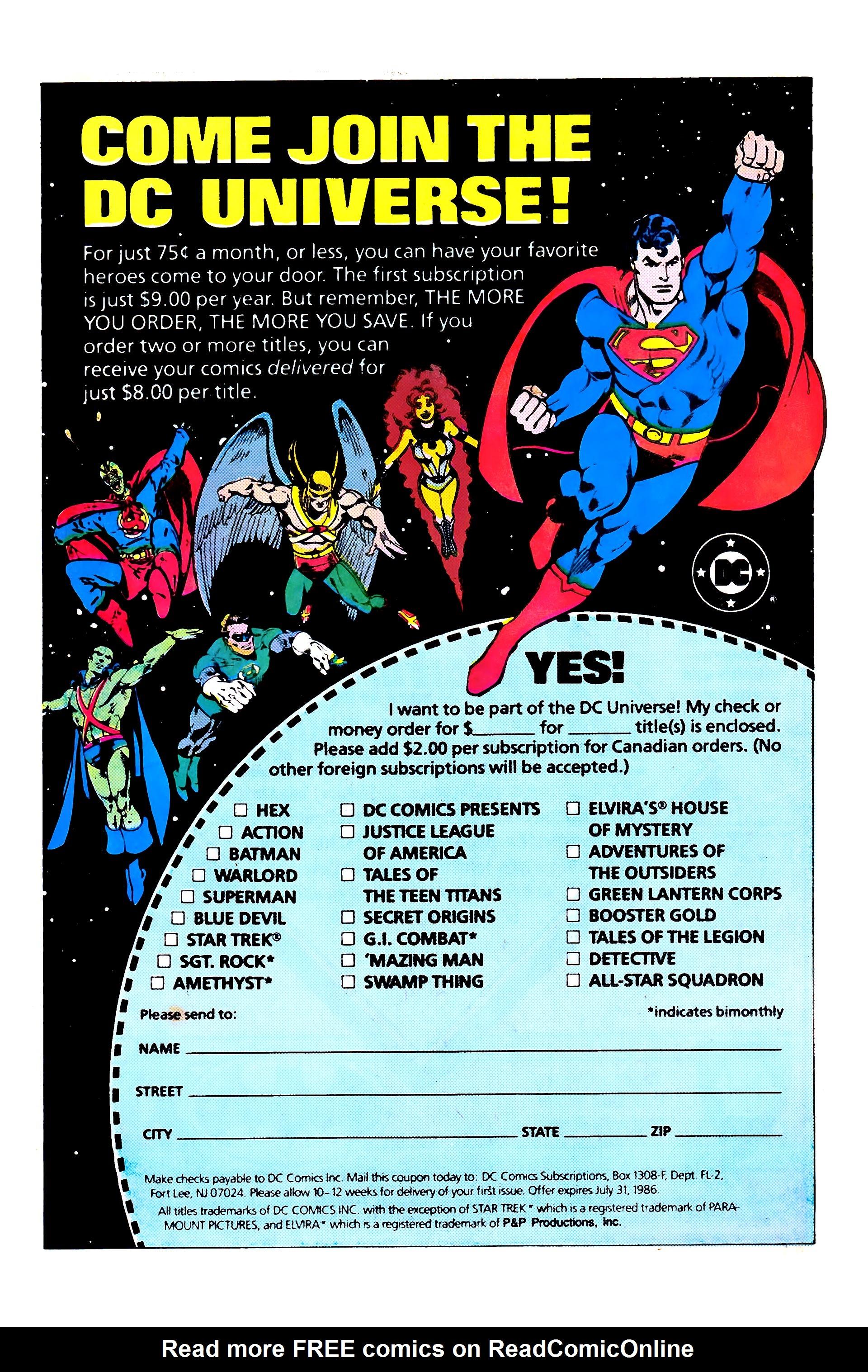 Read online Secret Origins (1986) comic -  Issue #5 - 14