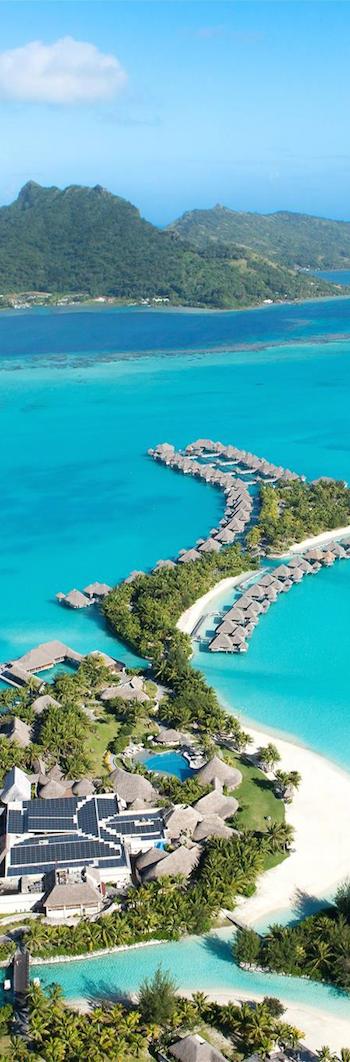 St. Regis Bora Bora Aerial View