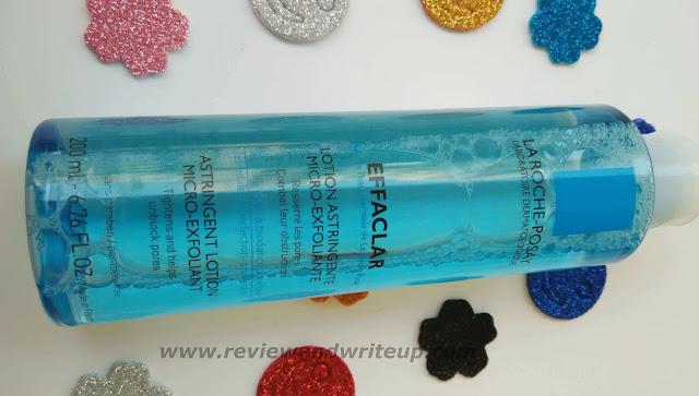 La Roche Posay Effaclar Astringent Lotion Review