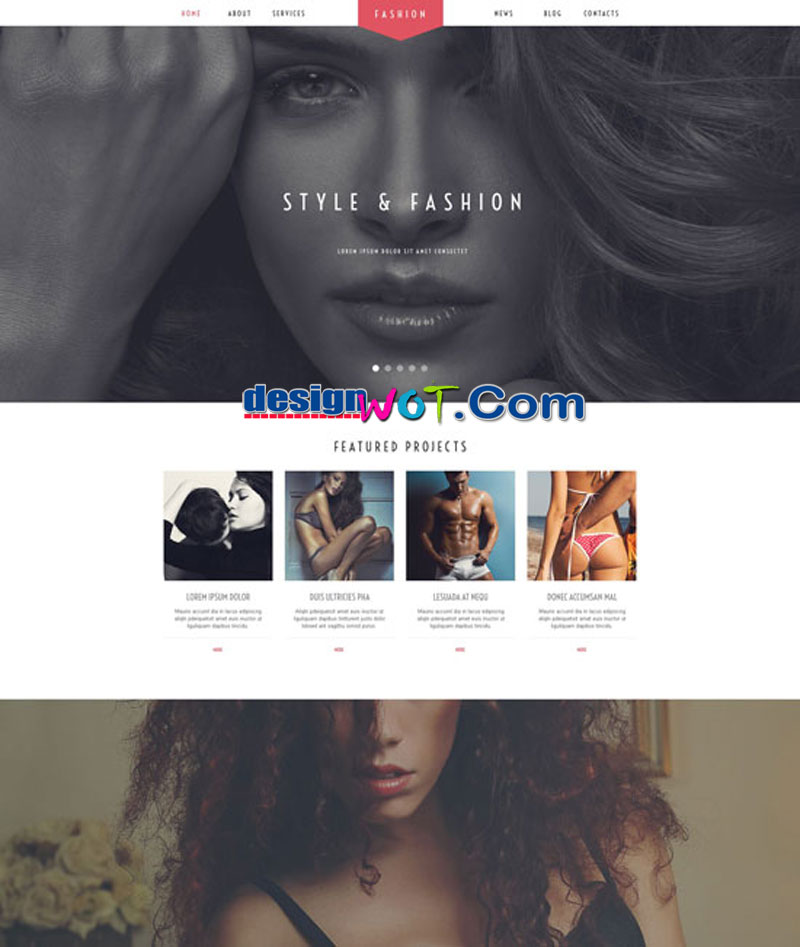 Fashion Stylist WordPress-Theme