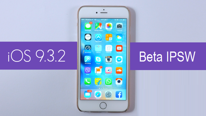 Apple iOS 9.3.2 Beta