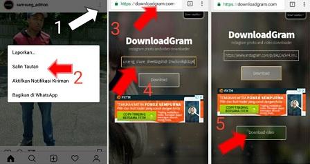 download video ig tanpa software