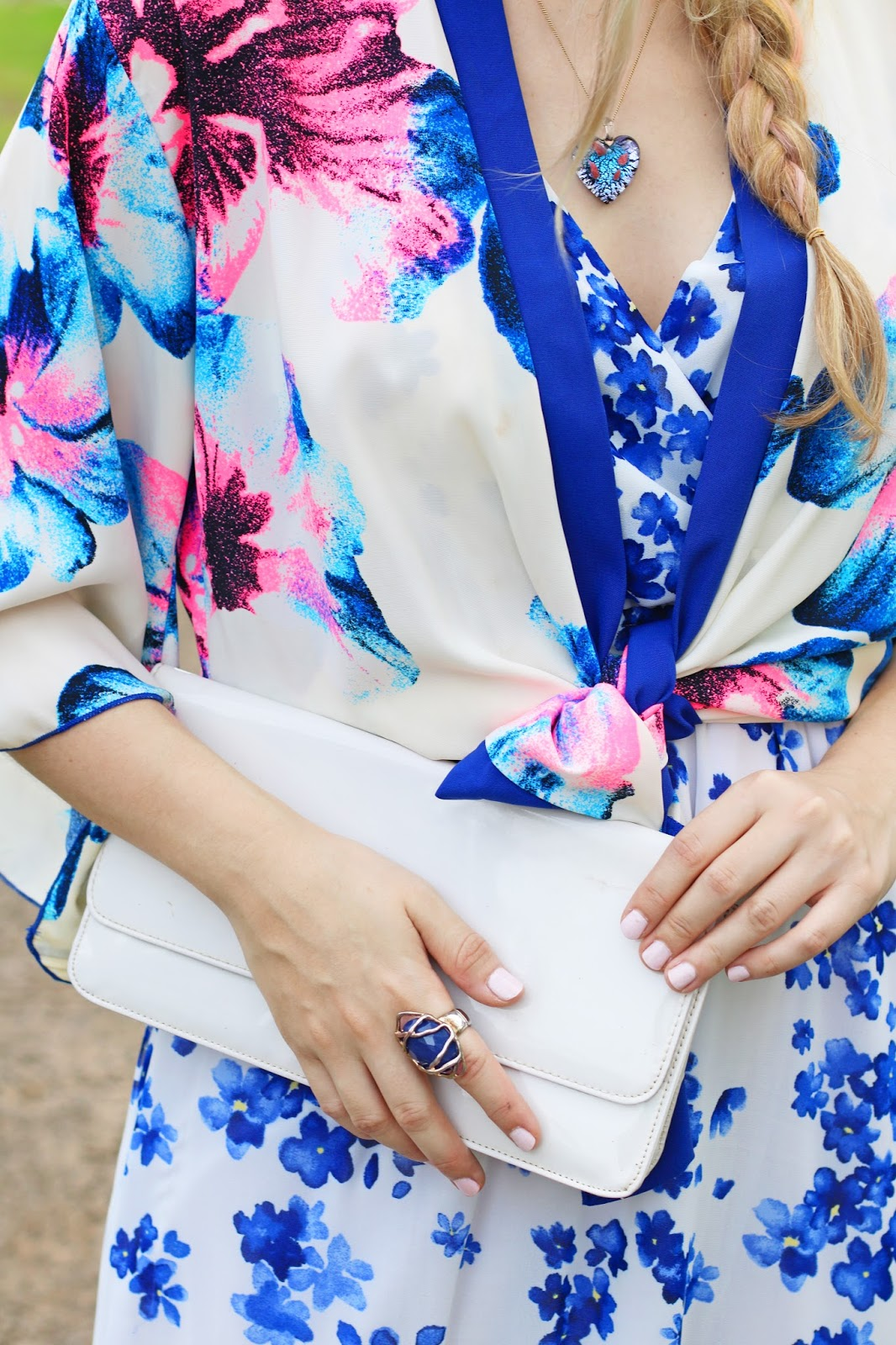 Great way to mix prints for Spring!