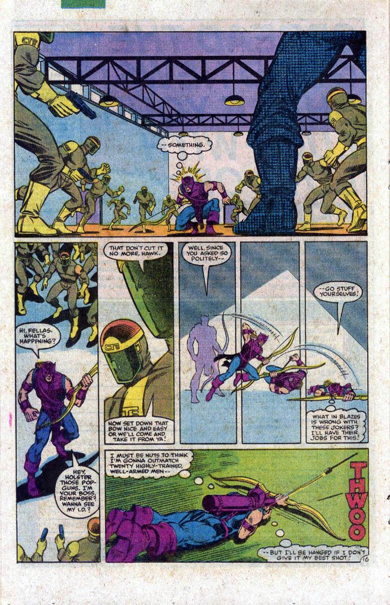 Hawkeye (1983) Issue #1 #1 - English 17