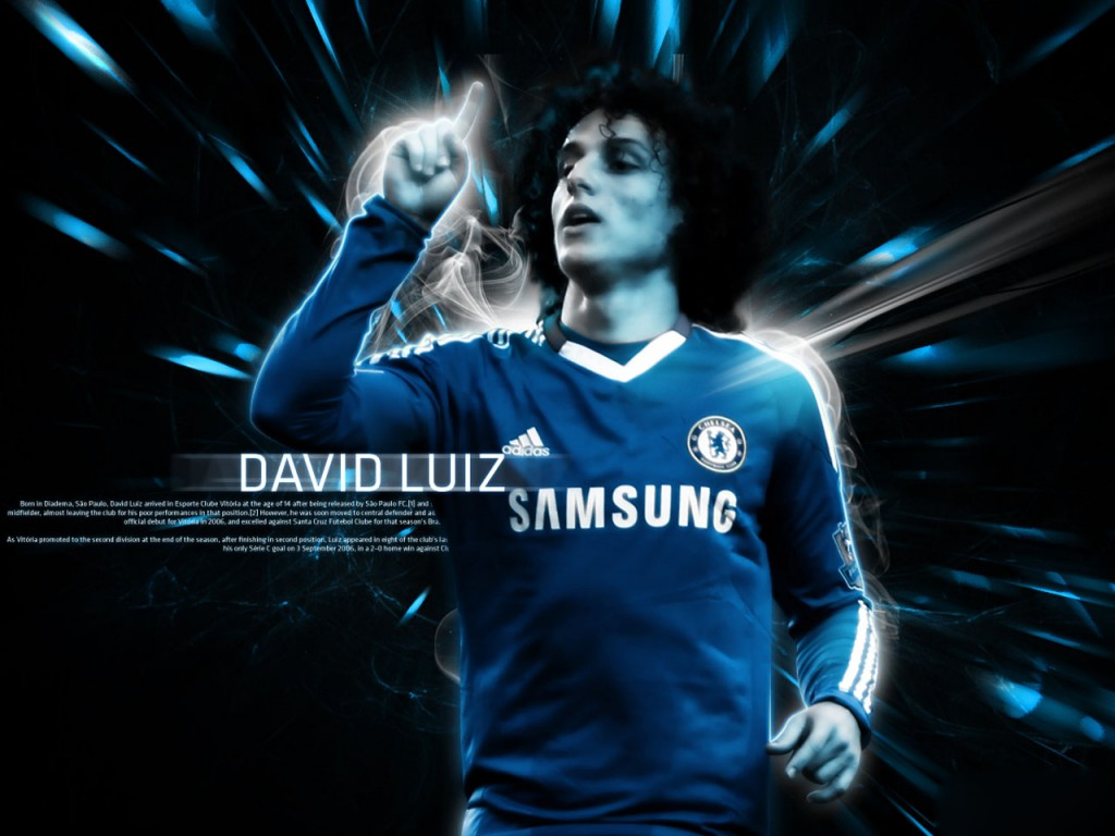 Soccer Wallpaper: David Luiz Wallpaper