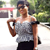 Okirika but Chic! - Nigerian lady shows off her 50 Naira 'bend down select' top