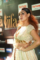 Apoorva Spicy Pics in Cream Deep Neck Choli Ghagra WOW at IIFA Utsavam Awards 2017 76.JPG