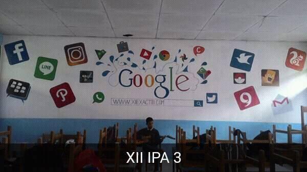 contoh dekorasi ruang kelas kreatif