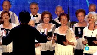 Coral de jubilados de Denia canta A quien le importa