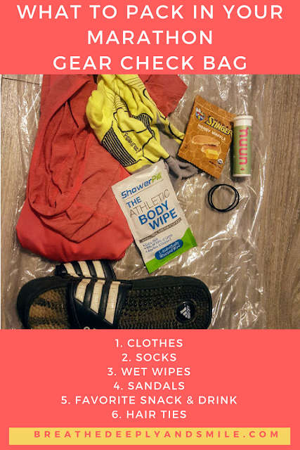 what-to-pack-marathon-gear-check-bag-runner