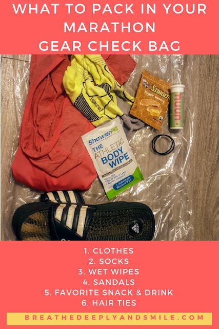 what-to-pack-marathon-gear-check-bag-runner