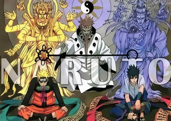12 Karakter Terkuat  Naruto termasuk Bijuu