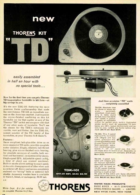 Thorens KIT TDK 101