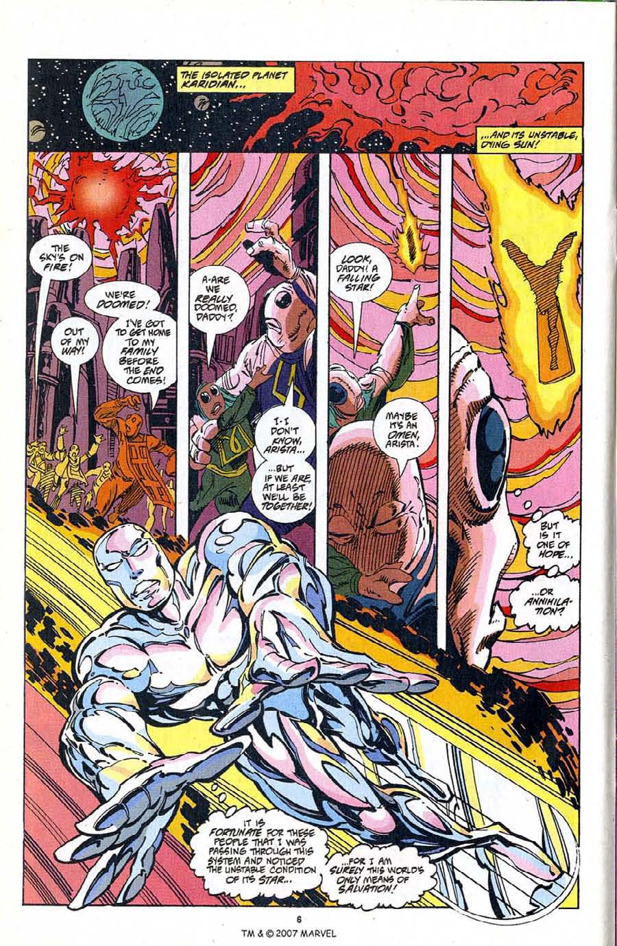 Silver Surfer (1987) Issue #103 #111 - English 8