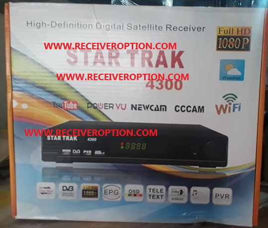 STAR TRACK 4300 HD RECEIVER AUTO ROLL POWERVU KEY NEW SOFTWARE