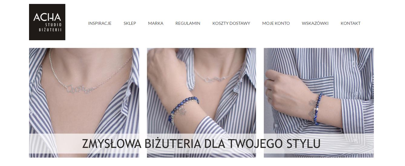 minimalistyczna biżuteria,
