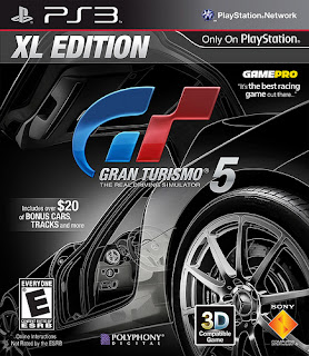 Gran Turismo 5 XL Edition Release Date Revealed