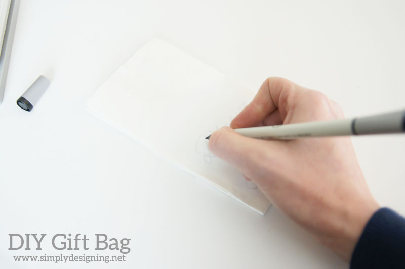 How to Perfectly Write  | #handwriting #wedding #gift #giftbag