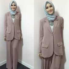 Fashion Formal Wanita Hijab