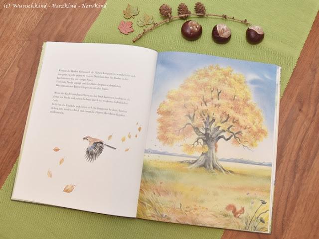 Wertvolle Kinderbücher und Sachbücher im Herbst. Montessori-geeignete Kinderbücher