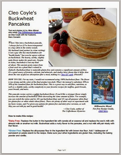 Mystery lovers kitchen healthy buckwheat pancakes by cleo coyle to download the free pdf of this recipe click here forumfinder Image collections