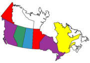 Canadian Provinces Visited