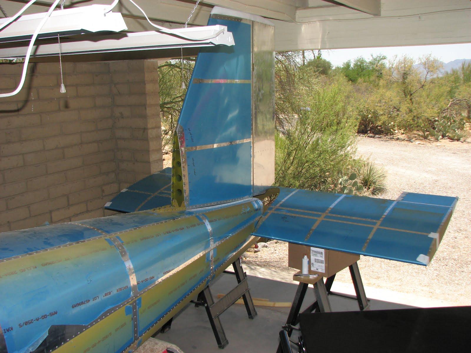 Torsten S Rv 12 Stabilator Installed