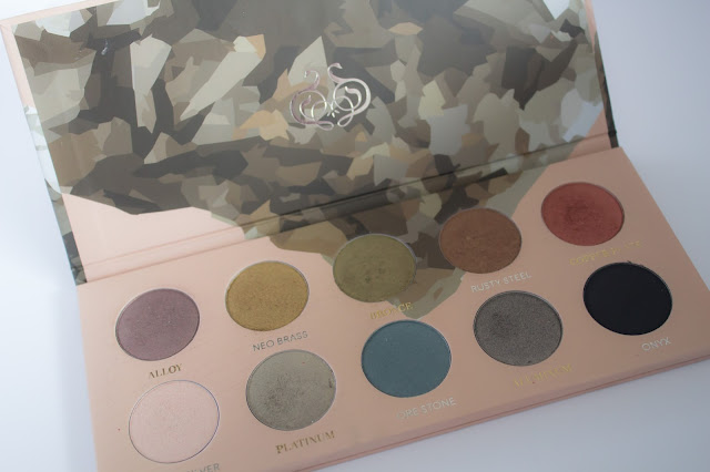 Palette Mixed Metals Zoeva