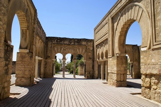 La antigua ciudad de Medina Azahara en Córdoba