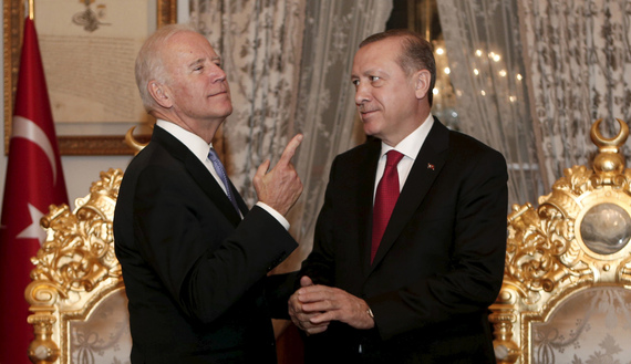 Biden calls for 'change of attitude' by Turkish government