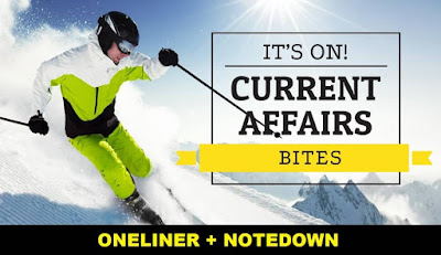 One Liner GK Current Affairs: 5th February 2018