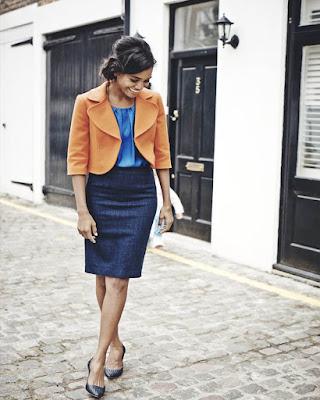 ropa femenina para el trabajo de moda