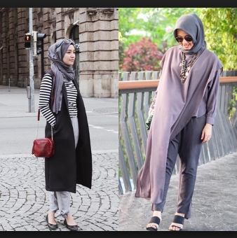 Fashion hijab casual 2017