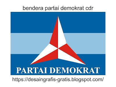 desain-bendera-partai-demokrat