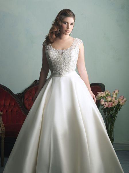 vestidos de novia para gorditas por el civil