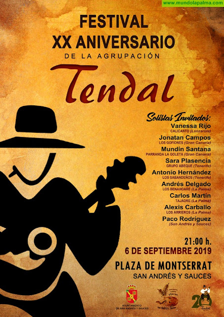 Agrupación Tendal celebra su XX Aniversario el próximo viernes