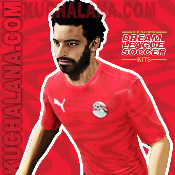 Egypt 2019 African Cup Kit -  Dream League Soccer Kits