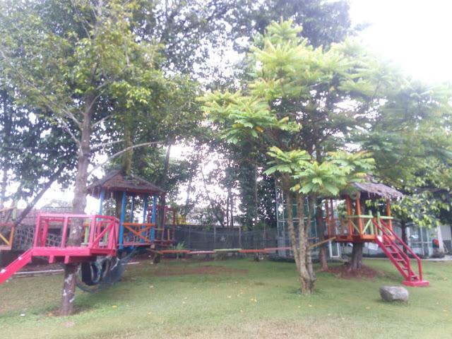 area permainan anak the highland park resort hotek bogor