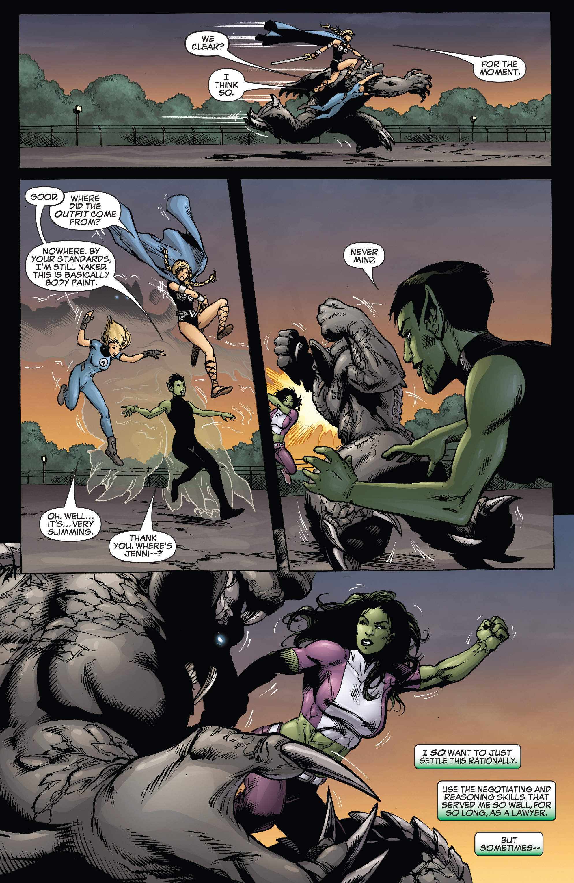 Read online She-Hulk (2005) comic -  Issue #38 - 30