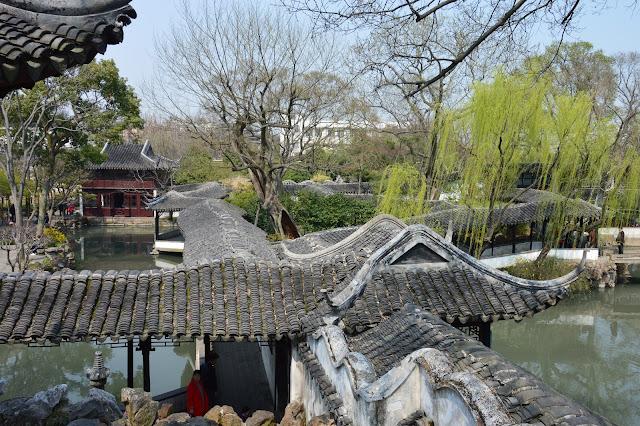 Jardin de l'humble administrateur à Suzhou