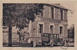 Histoire de la poste à la Foye-Monjault
