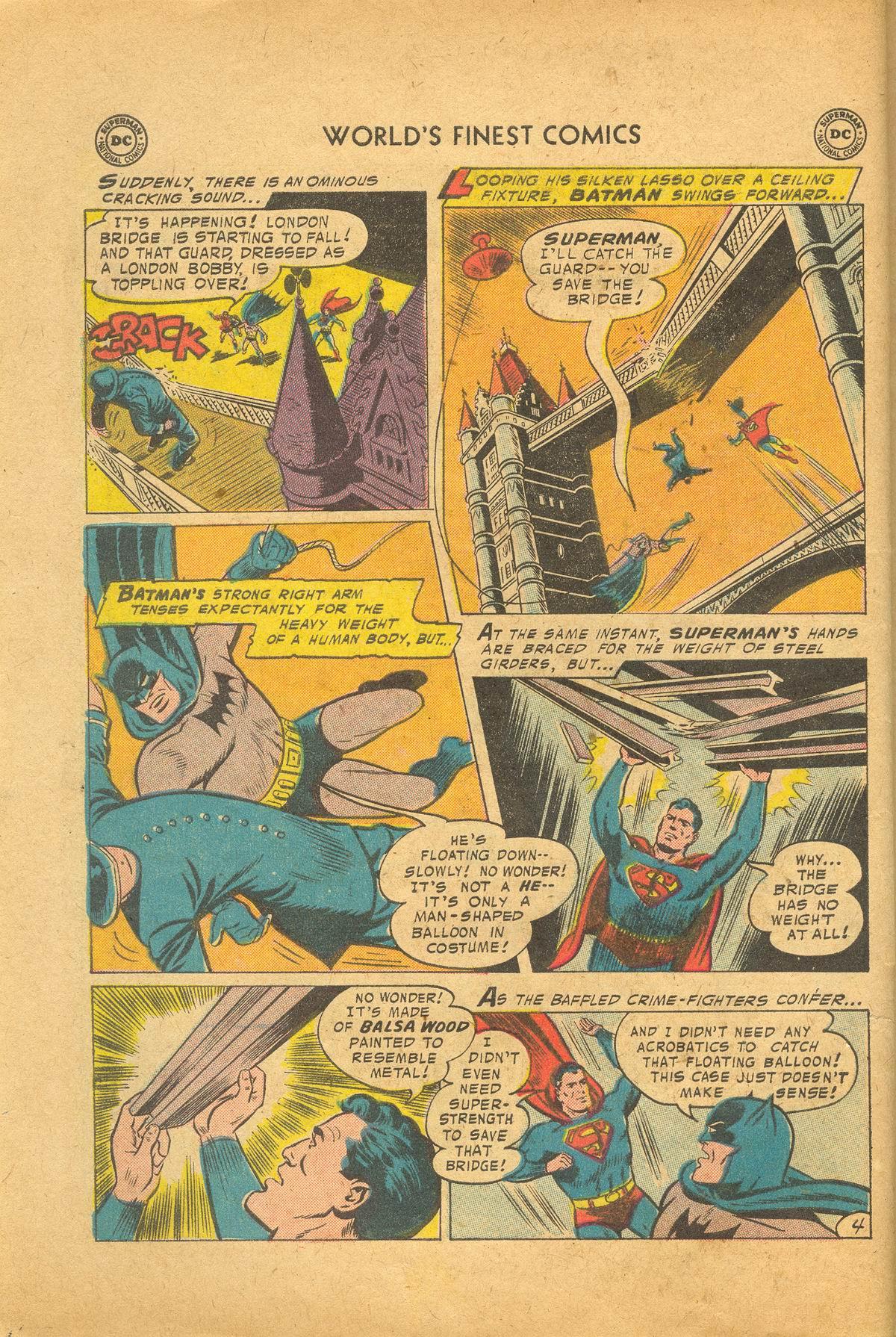 Read online World's Finest Comics comic -  Issue #83 - 6
