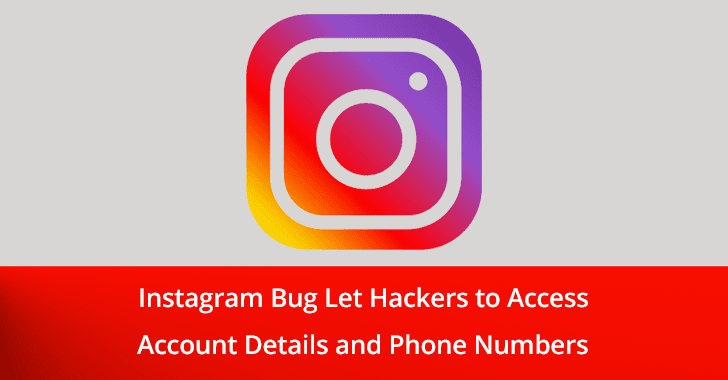 Instagram Data Leaking Bug  - Instagram 2Bdata leaking 2Bbug - New Instagram Data Leaking Bug Let Hackers to Access Account Details