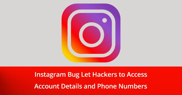 Instagram Data Leaking Bug