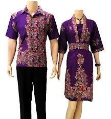 Kemeja Batik Couple Terbaru Model Baju Kemeja Batik Couple Terbaru