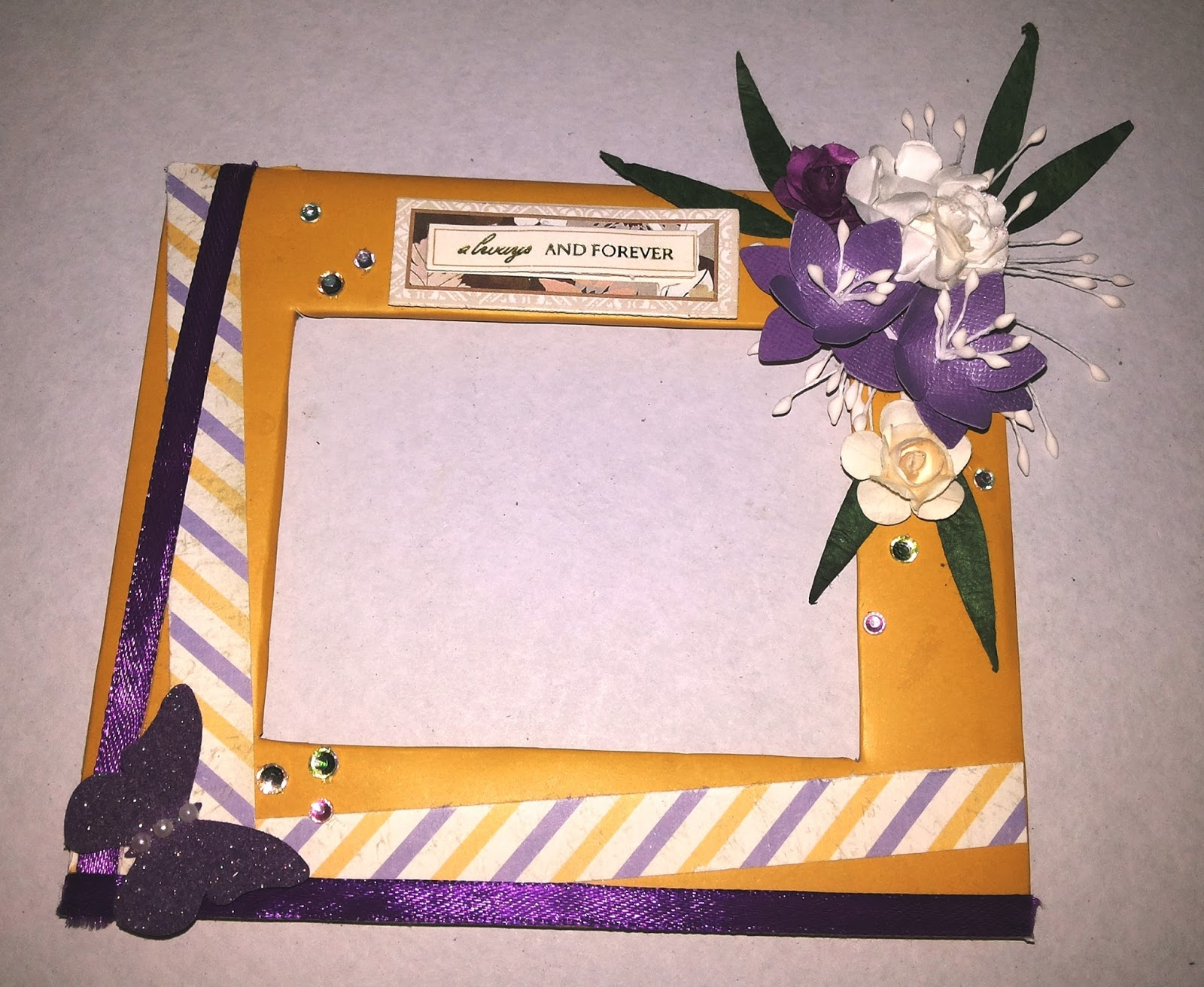 VREnchanted Color, Craft & more....: Cardboard Photo Frames- 2