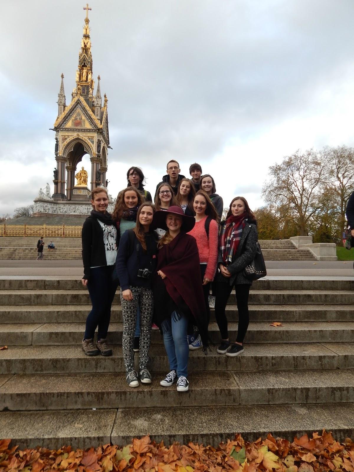 Albertův památník Londýn