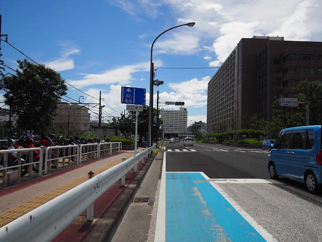 磯子 自転車専用レーン
